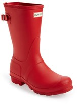 Hunter Women's Short Back Adjustable Rain Boot