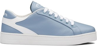 Prada Two Tone Low-Top Sneakers