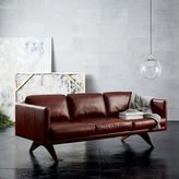 "west elm Brooklyn Leather Sofa (81"")"