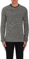 Barneys New York Men's Marled Baby Alpaca-Cotton Sweater