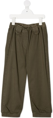 Douuod Kids Straight-Leg Cargo Trousers