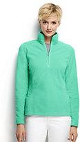 Classic Women's Petite 100 Everyday Fleece Half-zip-Intense Blue