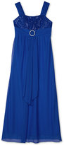 Amy Byer Maxi Dress with Sequin Bodice, Big Girls (7-16)