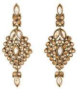 Oscar de la Renta Crystal Chandelier Drop Earrings