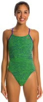 Nike Flow Cut Out Tank One Piece Swimsuit 8133369