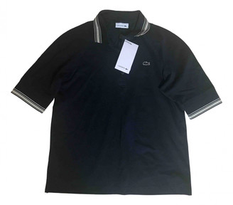 Lacoste Navy Cotton Top for Women