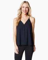 Charming charlie Midnight Beaded Tank