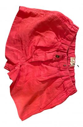 Etoile Isabel Marant Red Cloth Shorts