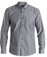 Quiksilver Men's Everyday Wilsden Long Sleeve Button Down Shirt