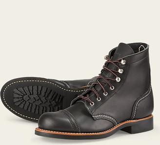 Red Wing Shoes 3366 Women Iron Ranger Black - US 6 - Black