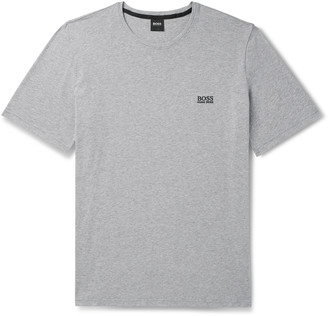 HUGO BOSS Slim-Fit Logo-Embroidered Stretch-Cotton Jersey T-Shirt