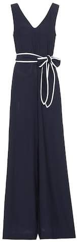 Diane von Furstenberg Crêpe jumpsuit