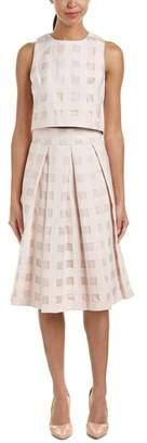 Eliza J 2pc Top & Skirt Set.