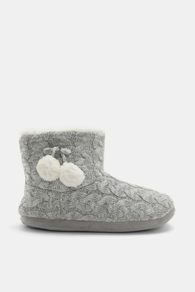 Ardene Faux Sherpa Lined Boot Slippers