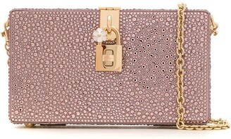 Dolce & Gabbana crystal embellished Box clutch