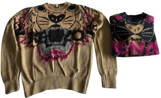 Kenzo Brown Wool Knitwear for Women