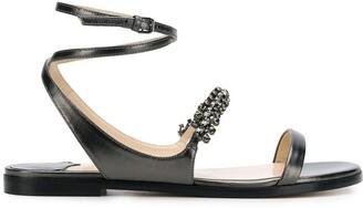 Jimmy Choo Abira flat sandals