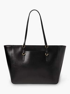 Ralph Lauren Ralph Chadwick Leather Tote Bag, Black