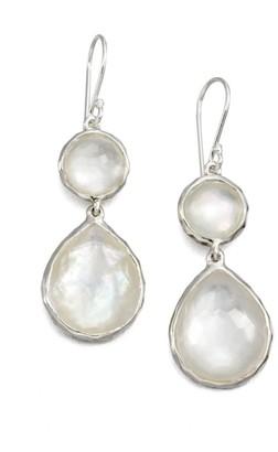 Ippolita Rock Candy Sterling Silver & Doublet Double-Drop Earrings