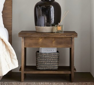 "Pottery Barn North 28"" Reclaimed Wood Nightstand"