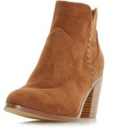 Dorothy Perkins Womens *Head Over Heels By Dune Tan Pandoro Ladies Ankle Boots- Tan