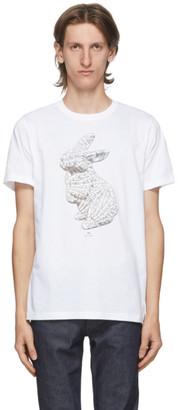 Paul Smith White Rabbit Bones T-Shirt