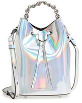 KENDALL + KYLIE Mini Ladie Bucket Bag - Metallic