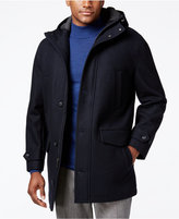 London Fog Hooded Insulated Duffle Coat