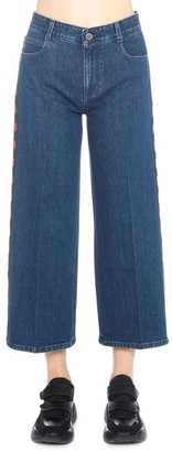 Stella McCartney Cropped Straight Jeans