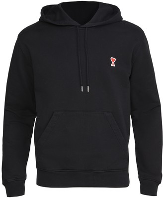 Ami Small Heart Logo Pullover Hoodie