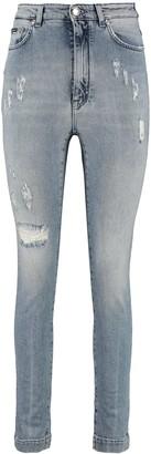 Dolce & Gabbana High-rise Grace-fit Jeans