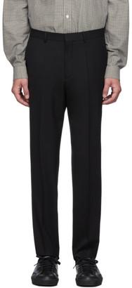 HUGO Black German Solid Trousers
