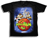 Freeze Black Space Jam Outer Space Tee - Boys