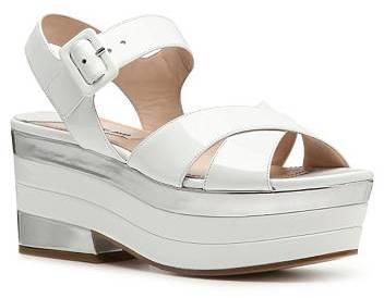 Miu Miu Patent Leather Platform Sandal