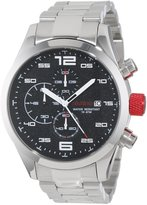 Redline Red Line Men's RL-50042-11 Stealth Chronograph Textured Dial Stainless Steel Watch