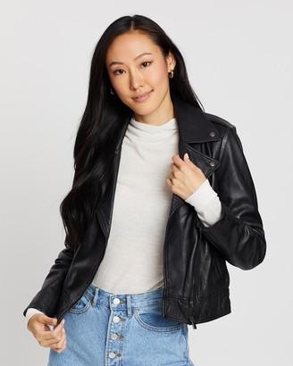 Jag Alana Biker Leather Jacket