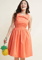 Revel and Relish Fit and Flare Dress in 3X - Sleeveless Fit & Flare Midi by ModCloth
