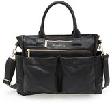 The Honest Company Infant Girl's 'Everything' Faux Leather Diaper Bag - Black
