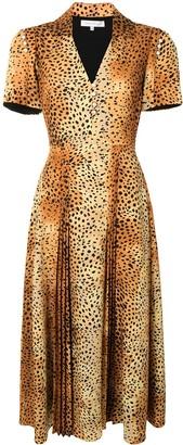 Borgo de Nor Adelaide leopard print midi dress