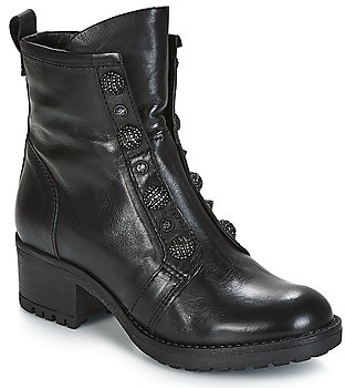 Mjus MISA women's Mid Boots in Black