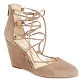 Jessica Simpson Women's Jacee Lace-Up Wedge