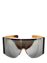 Rick Owens Shiny Buffalo Horn Sunglasses