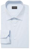 Z Zegna Cotton Solid Dress Shirt