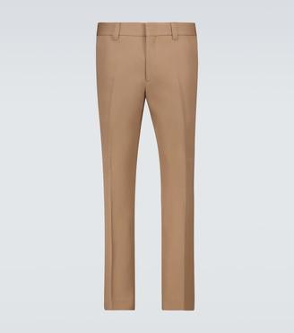 Burberry Wool slim-fit pants
