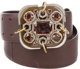 Lanvin Jewel-Embellished Waist Belt