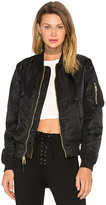 Alpha Industries MA-1 W Bomber in Black. - size M (also in S)