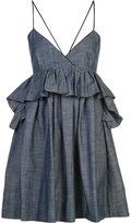 Piamita 'Alessandra' ruffled babydoll dress