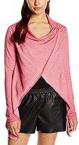 Tom Tailor Women's Long Sleeve Cardigan - Pink -
