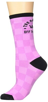 Vans Ticker Sock 1-Pack (Fuchsia/Pink/Black) Women's No Show Socks Shoes