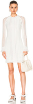 3.1 Phillip Lim Long Sleeve Pointelle Lace Dress